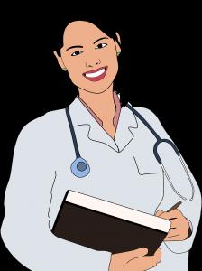 cartoon, checkup, clinic